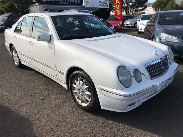 1999 MERCEDES-BENZ E240 ELEGANCE W210 4D SEDAN