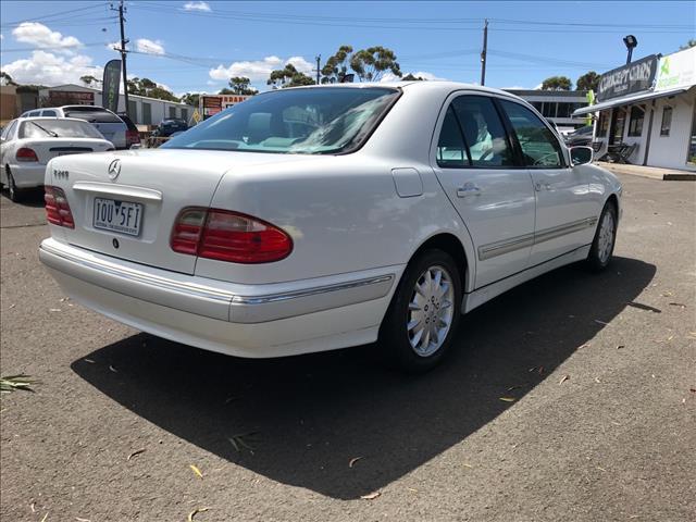 1999 MERCEDES-BENZ E240 ELEGANCE W210 4D SEDAN