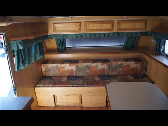 Galaxy Caravan Bunk Van
