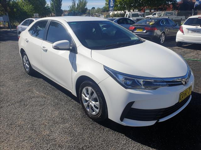 2017 TOYOTA COROLLA ASCENT ZRE172R MY17 4D SEDAN