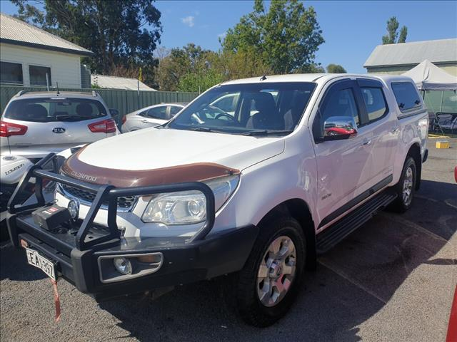 2013 HOLDEN COLORADO LTZ (4x4) RG MY14 CREW CAB P/UP