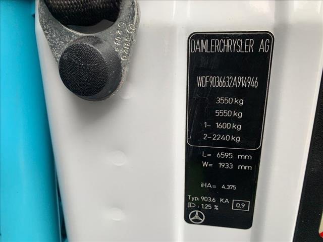 2004 Mercedes-Benz Sprinter  313 CDI Motorhome