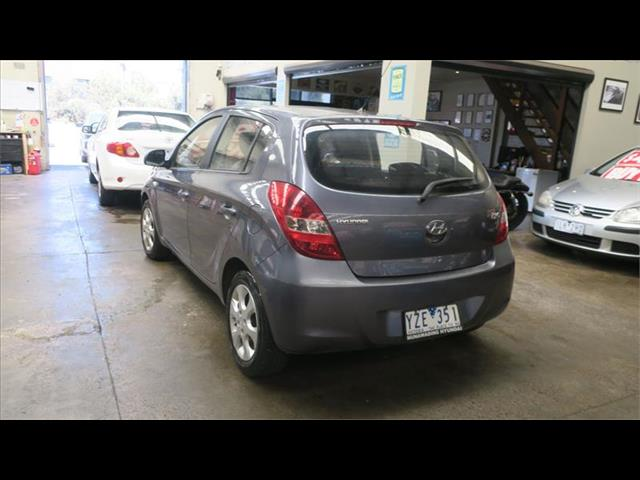 2012 Hyundai i20 Elite PB MY12 Hatchback