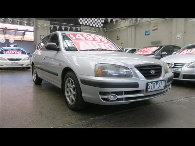 2004 Hyundai Elantra Elite XD MY04 Hatchback