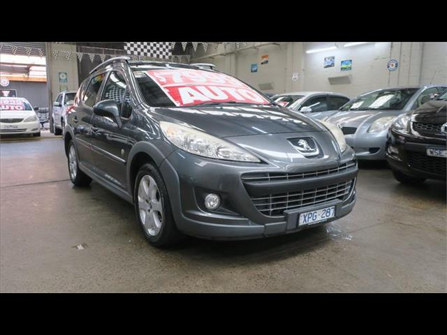 2009 Peugeot 207 Outdoor A7 Series II MY10 Wagon