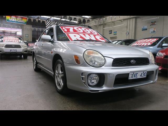 2001 Subaru Impreza RS S MY02 Sedan