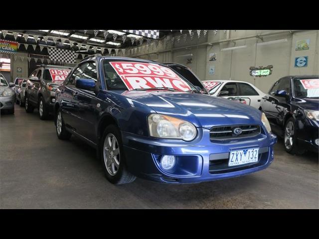 2003 SUBARU IMPREZA GX (AWD) MY03 5D HATCHBACK