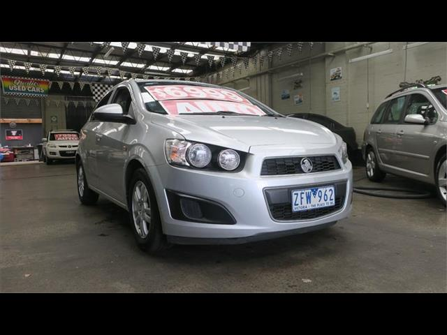 2012 Holden Barina CD TM MY13 Sedan
