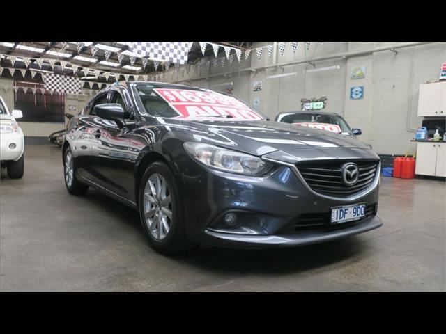 2013 Mazda 6 Touring GJ1031 Sedan