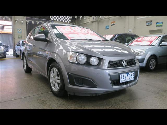 2012 Holden Barina  TK MY11 Hatchback