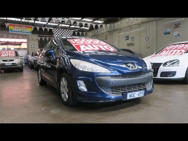 2008 Peugeot 308 XS T7 Hatchback