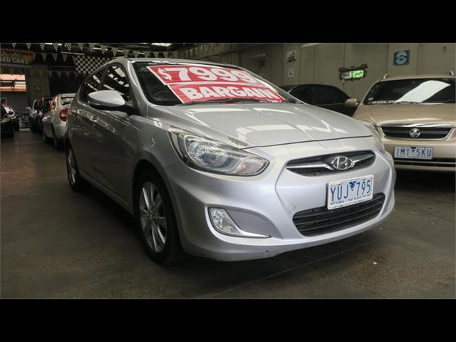 2011 Hyundai Accent Premium RB Hatchback
