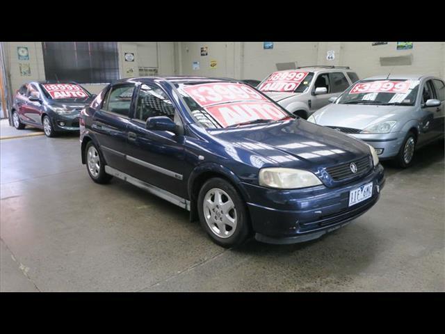 1999 Holden Astra CD TS Hatchback