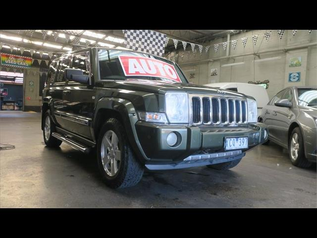 2009 JEEP COMMANDER LIMITED XH 4D WAGON