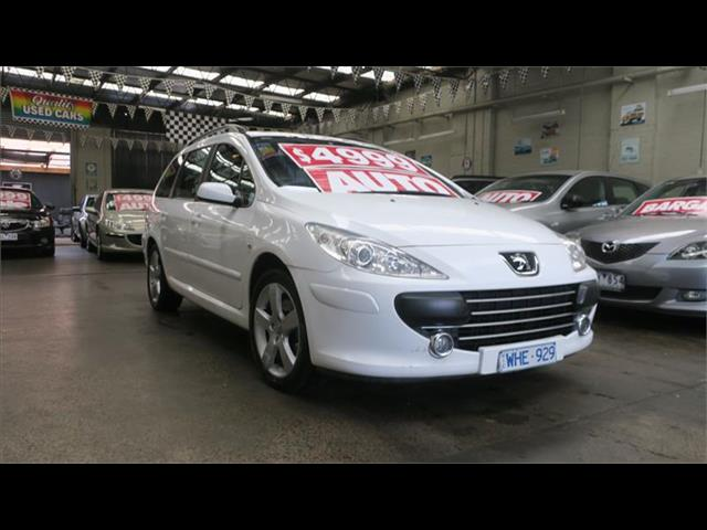 2007 PEUGEOT 307 XSE HDi 2.0 TOURING MY06 UPGRADE 4D WAGON