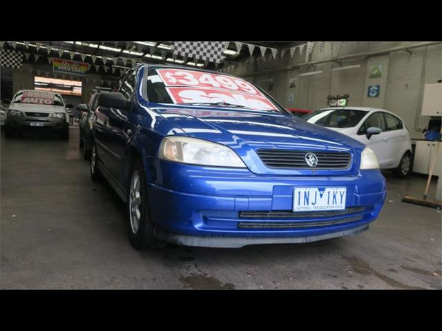 2005 Holden Astra Classic TS MY05 Hatchback