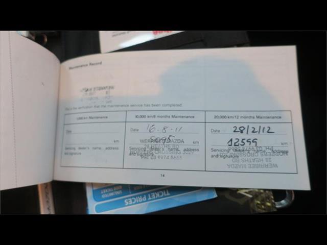 2011 MAZDA MAZDA3 NEO BL 10 UPGRADE 5D HATCHBACK
