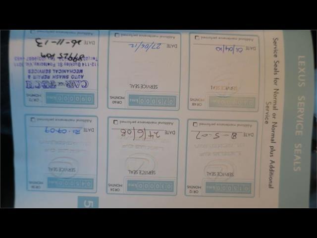 2006 LEXUS IS250 PRESTIGE GSE20R 4D SEDAN