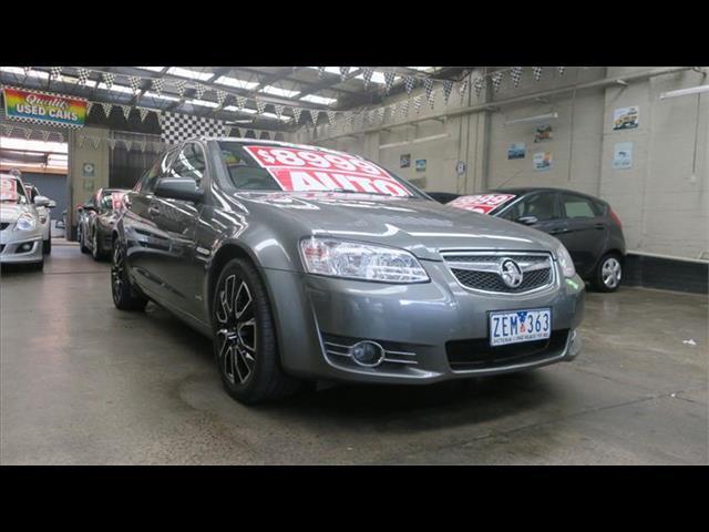 2012 Holden Commodore Equipe VE II MY12 Sedan