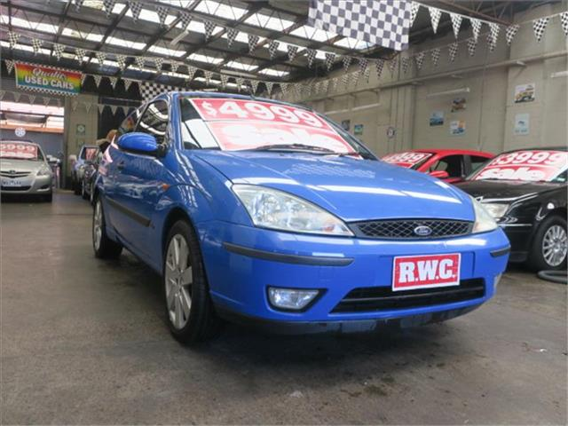 2003 Ford Focus Zetec LR MY2003 Hatchback