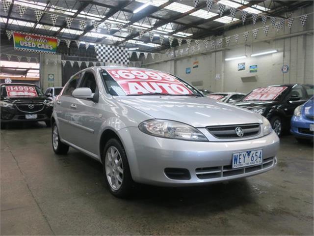 2007 Holden Viva  JF MY07 Hatchback