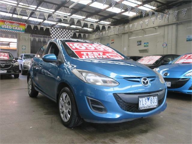 2011 Mazda 2 Neo DE10Y1 MY11 Hatchback