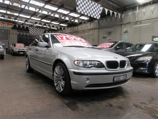 2003 BMW 3 Series 318i E46 MY2003 Sedan
