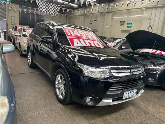 2014 Mitsubishi Outlander LS ZJ MY14.5 Wagon