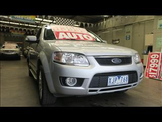 2009 FORD TERRITORY GHIA (RWD) SY MY07 UPGRADE 4D WAGON