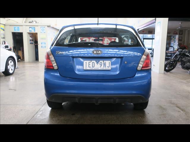 2010 KIA RIO S JB MY11 5D HATCHBACK
