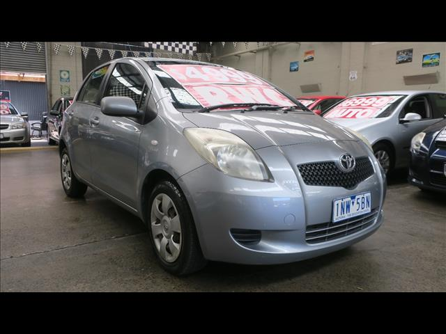 2006 Toyota Yaris YRS NCP91R Hatchback