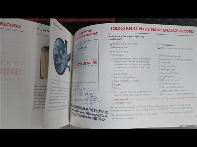 2004 TOYOTA CAMRY ALTISE ACV36R 4D SEDAN