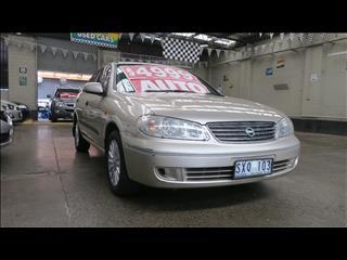 2004 NISSAN PULSAR ST-L N16 4D SEDAN