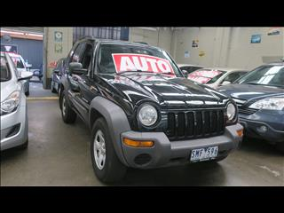 2004 JEEP CHEROKEE LIMITED (4x4) KJ MY05 UPGRADE 4D WAGON
