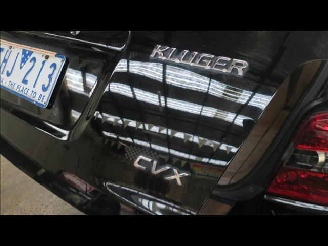 2005 TOYOTA KLUGER CVX (4x4) MCU28R 4D WAGON