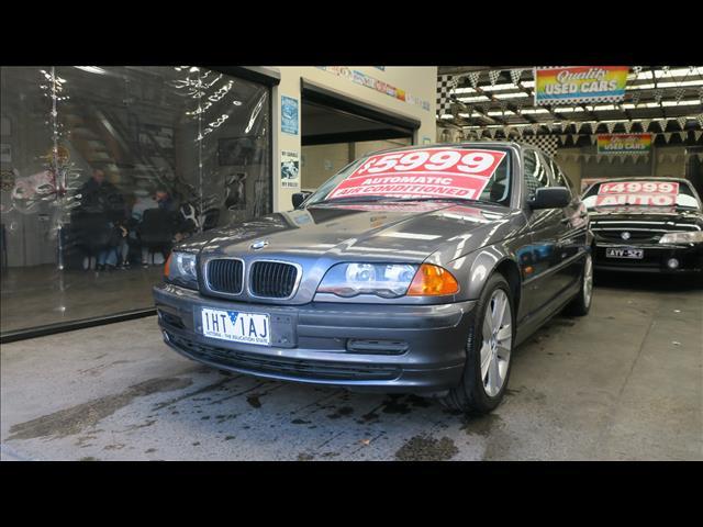 2000 BMW 3 18i EXECUTIVE E46 4D SEDAN