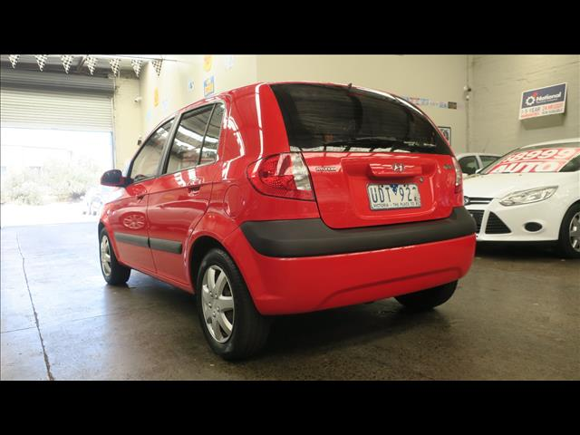 2006 HYUNDAI GETZ 1.4 TB UPGRADE 5D HATCHBACK