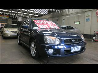 2004 SUBARU IMPREZA RS (AWD) MY05 5D HATCHBACK