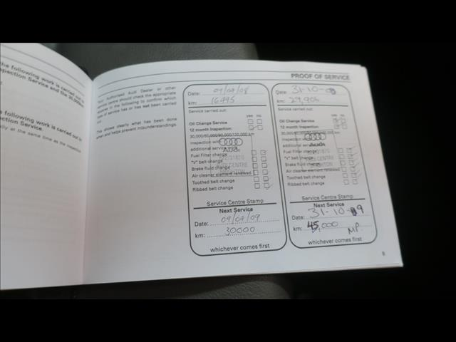 2007 AUDI A4 1.8T S-LINE B7 4D SEDAN