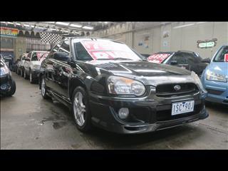 2004 SUBARU IMPREZA RS (AWD) MY04 4D SEDAN