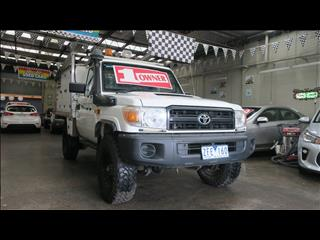 2011 TOYOTA LANDCRUISER WORKMATE (4x4) VDJ79R 09 UPGRADE C/CHAS