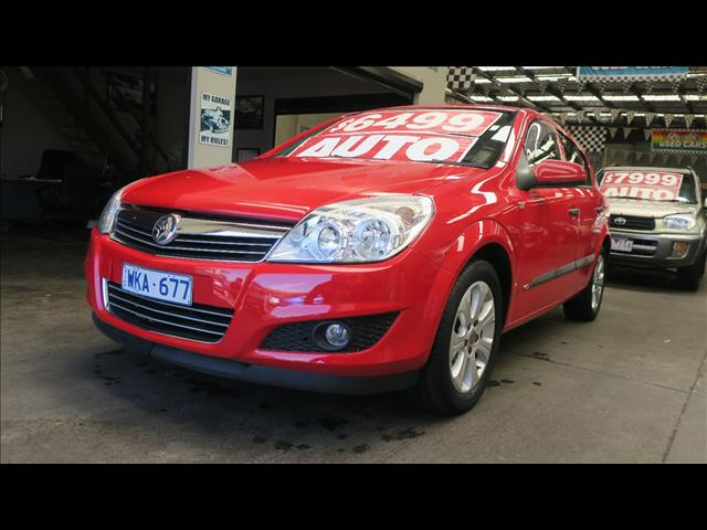 2008 HOLDEN ASTRA 60TH ANNIVERSARY AH MY08.5 5D HATCHBACK