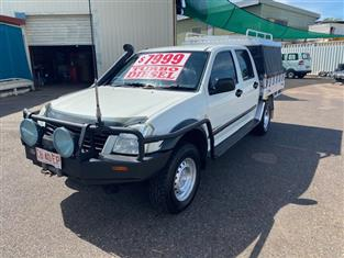 2006 HOLDEN RODEO LT (4x4) RA MY06 UPGRADE CREW CAB P/UP