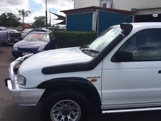 1999 MAZDA B2500 (4x4) DUAL CAB P/UP