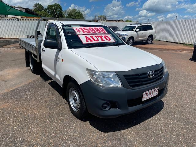 2014 TOYOTA HILUX WORKMATE TGN16R MY12 C/CHAS