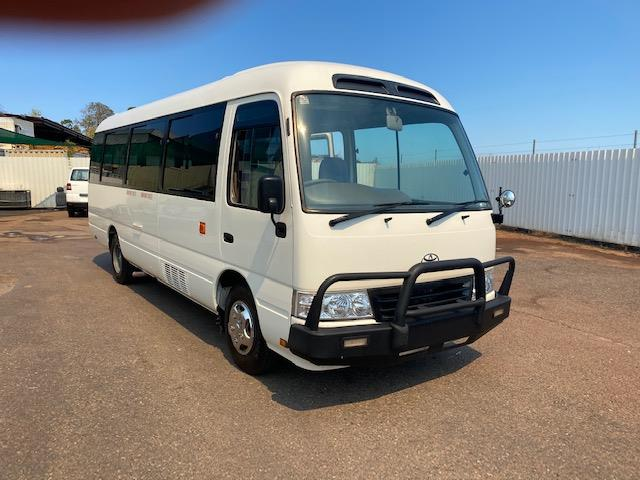 2014 TOYOTA COASTER DELUXE (LWB) XZB50R 07 UPGRADE BUS