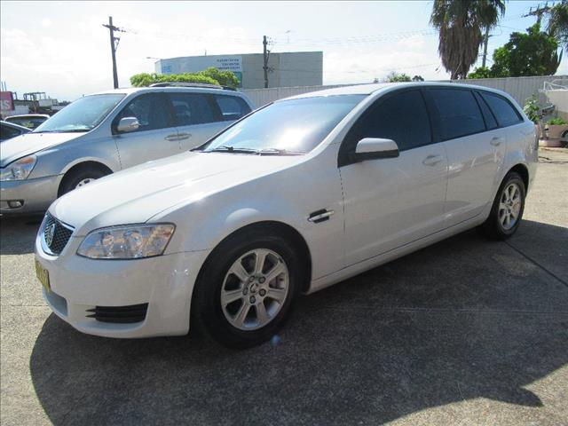 2010 HOLDEN COMMODORE OMEGA VE II 4D SPORTWAGON