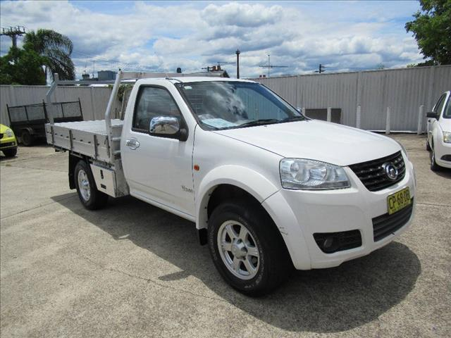 2013 GREAT WALL V240 4X2 K2 MY11 DUAL CAB UTILITY