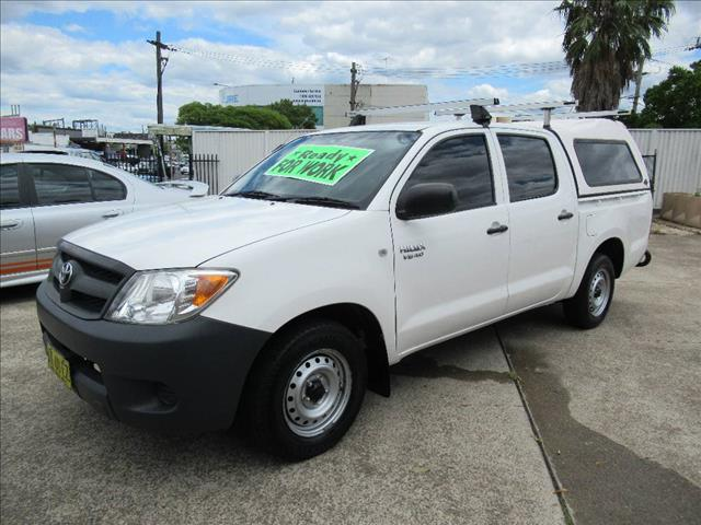 2006 TOYOTA HILUX SR GGN15R 06 UPGRADE DUAL CAB PUP