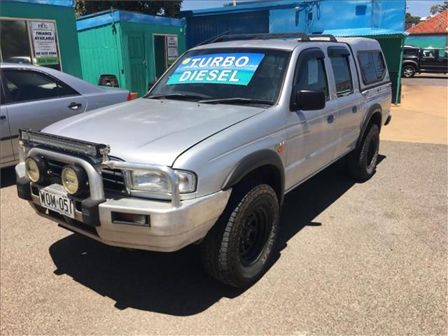 2001  MAZDA B2500 BRAVO DX (4x4)  DUAL CAB P/UP